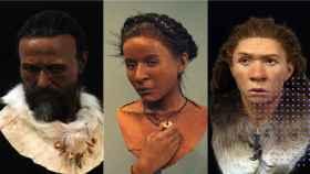 Reconstrucción de cómo serían los neandertales.