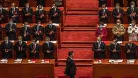 Xi Jinping en el último congreso del Partido Comunista Chino