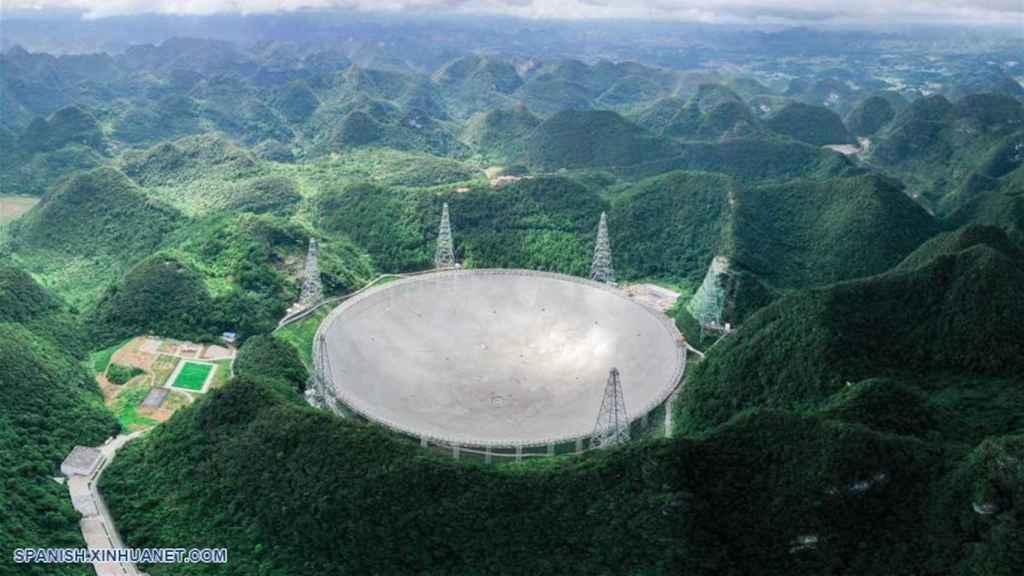 El telescopio FAST será usado para buscar alienígenas