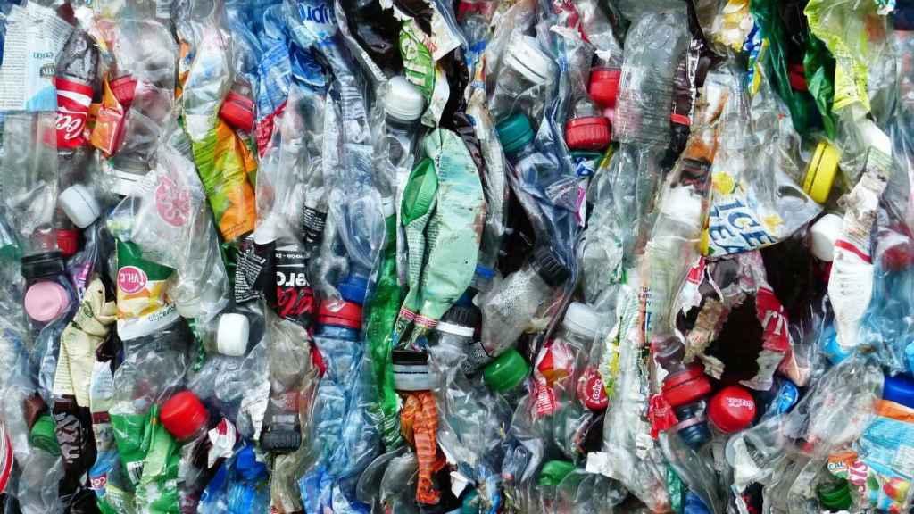 Una imagen de archivo de residuos plásticos.