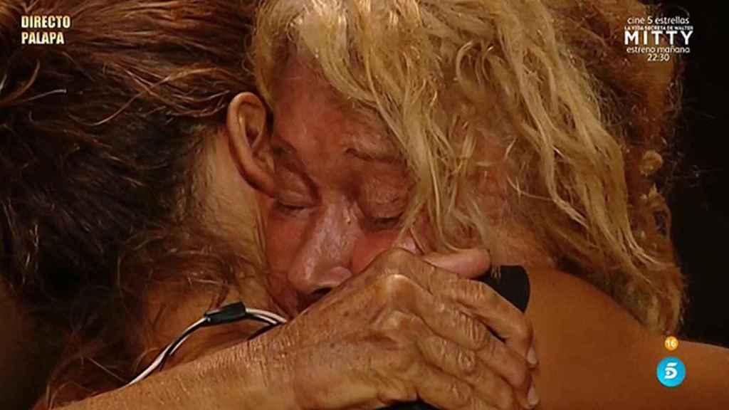 Carla y Mila se llevaron una gran amistad de la isla.