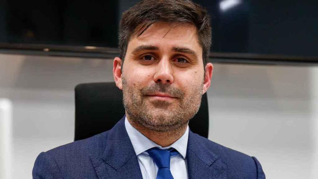 David Aganzo, en la sede de AFE