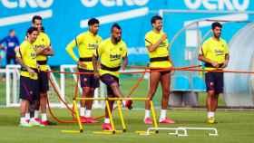 El Barcelona se entrena en Sant Joan Despí
