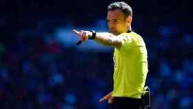 Cuadra Fernández, árbitro de La Liga, analiza el fútbol tras el Covid: Habrá menos protestas