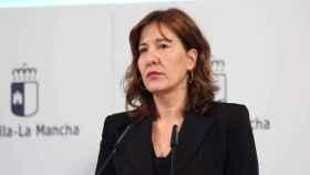 La consejera portavoz del Gobierno de Castilla-La Mancha, Blanca Fernández, en una imagen reciente