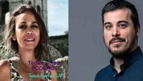 Helena Galán y José Luis García Gascón, candidatos a liderar Podemos en Castilla-La Mancha