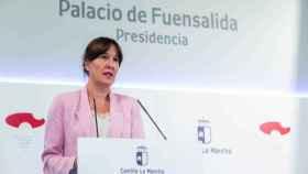 Blanca Fernández, consejera portavoz del Gobierno de Castilla-La Mancha