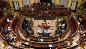 Pleno del Congreso de los Diputados celebrado durante el estado de alarma.