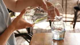 Una jarra de agua en una imagen de archivo.