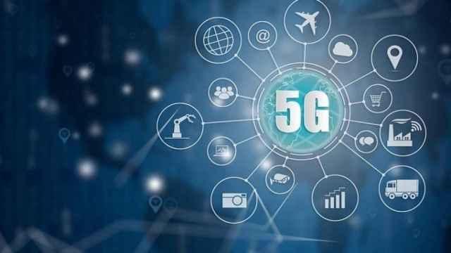 Imagen de una red 5G