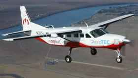 Cessna 208B Caravan eléctrica en su primer vuelo