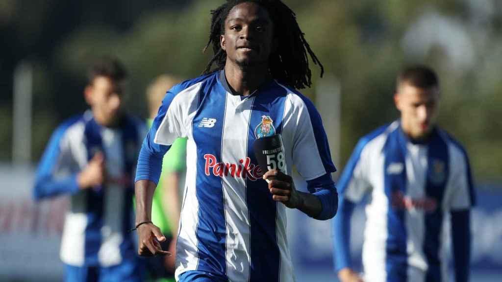 Romario Baró, jugador del FC Porto