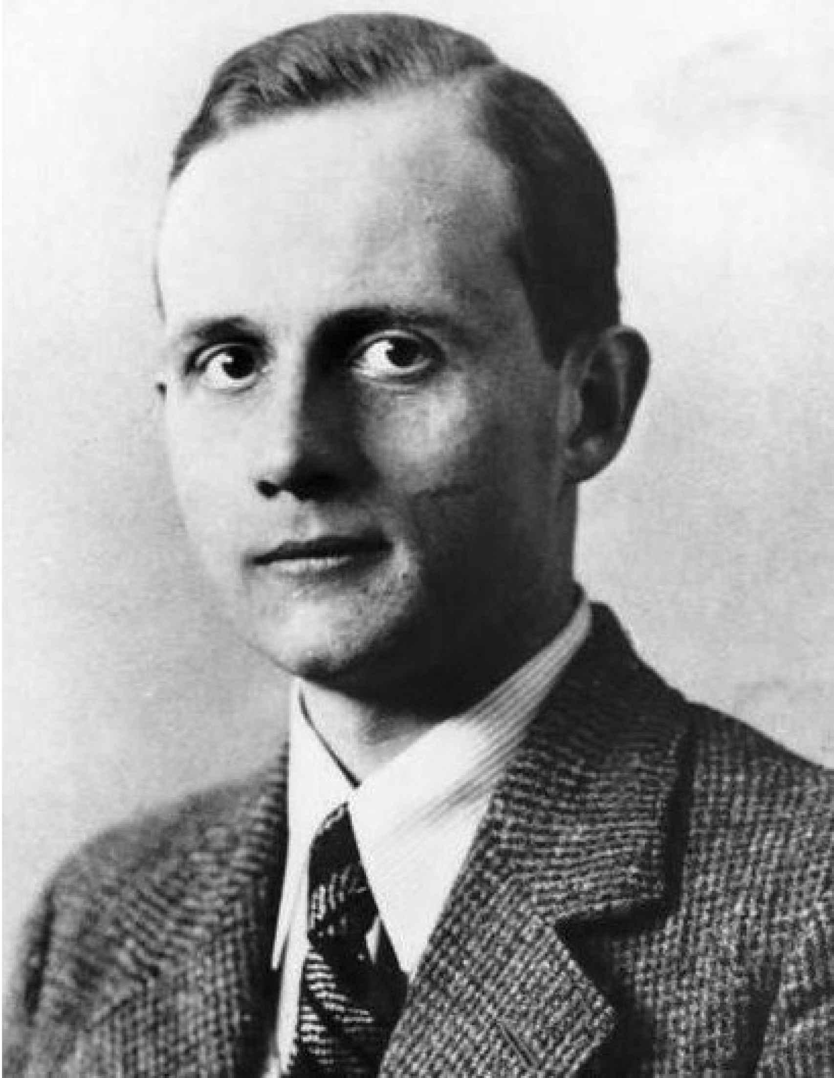 Ernst vom Rath, asesinado por Herschel Grynszpan.