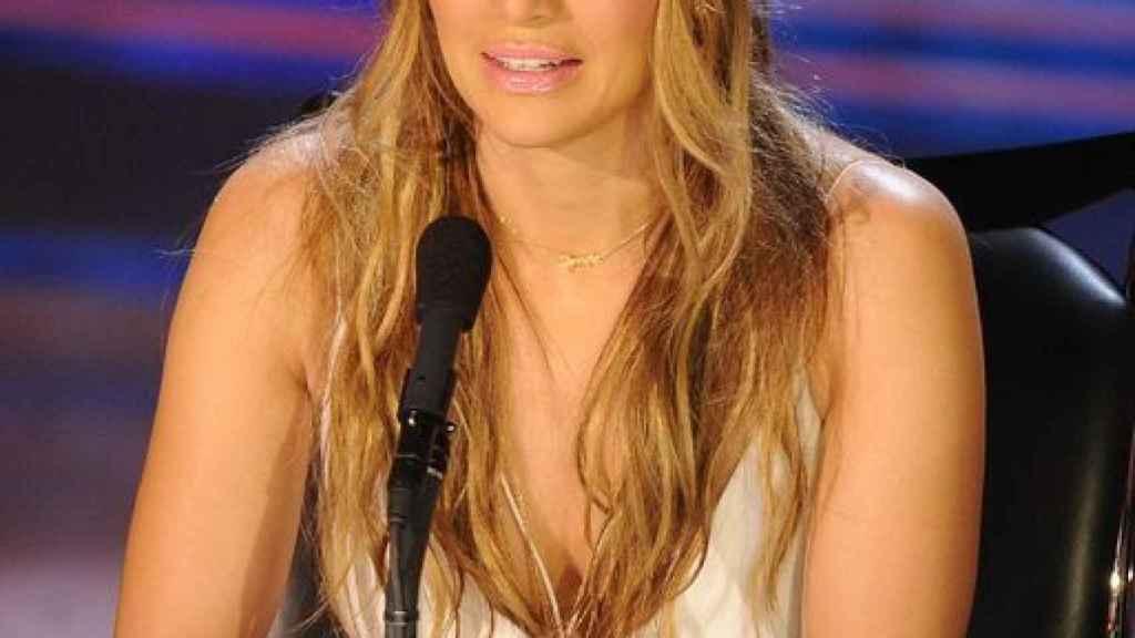 Jennifer López en 'American Idol' con bandana.