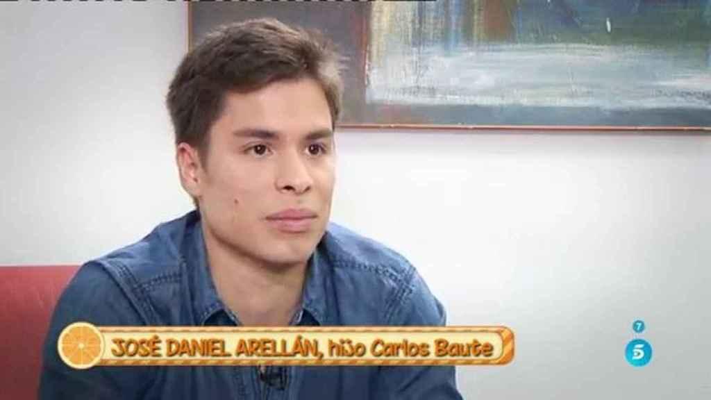 José Daniel Baute, hijo de Carlos Baute.