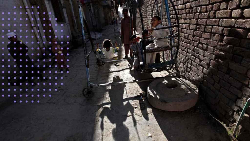 Día Internacional del Niño en Pakistán.