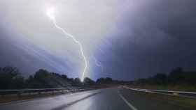 Tormenta en la provincia de Ourense.