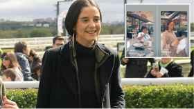 Victoria Federica en montaje de JALEOS junto a su 'pillada' con amigos.