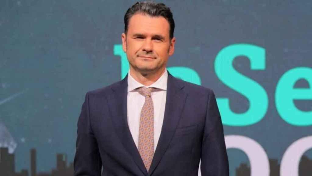 Iñaki López presenta 'La Sexta Noche'.