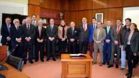 Foto de archivo del Consejo Social de UCLM,, que preside Félix Sanz Roldán
