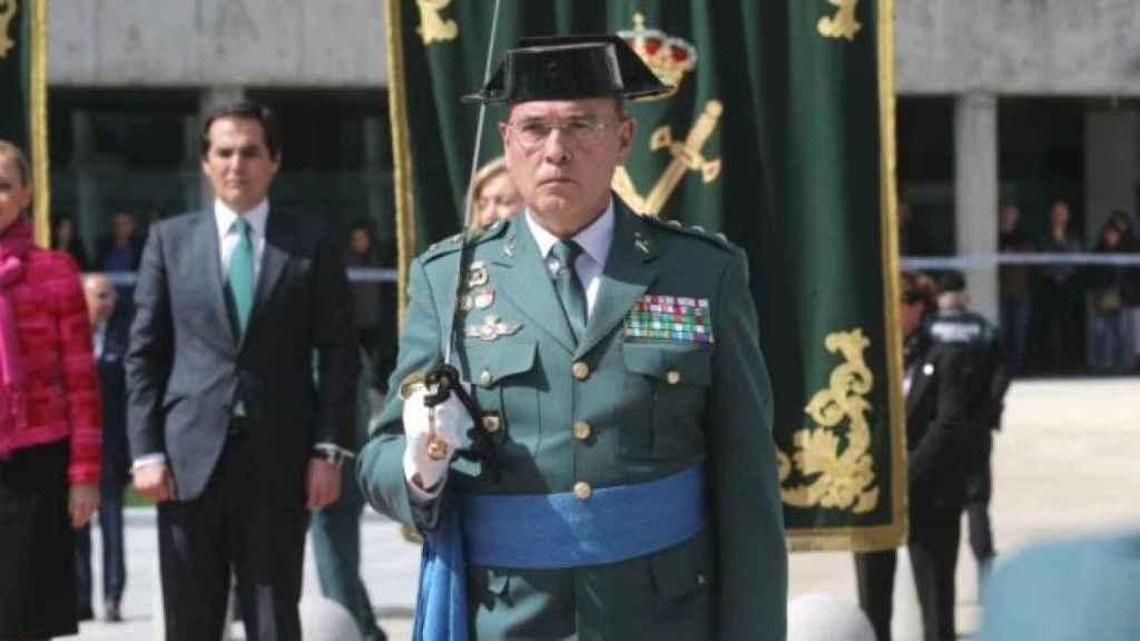 Pérez de los Cobos, en un acto de la Guardia Civil./
