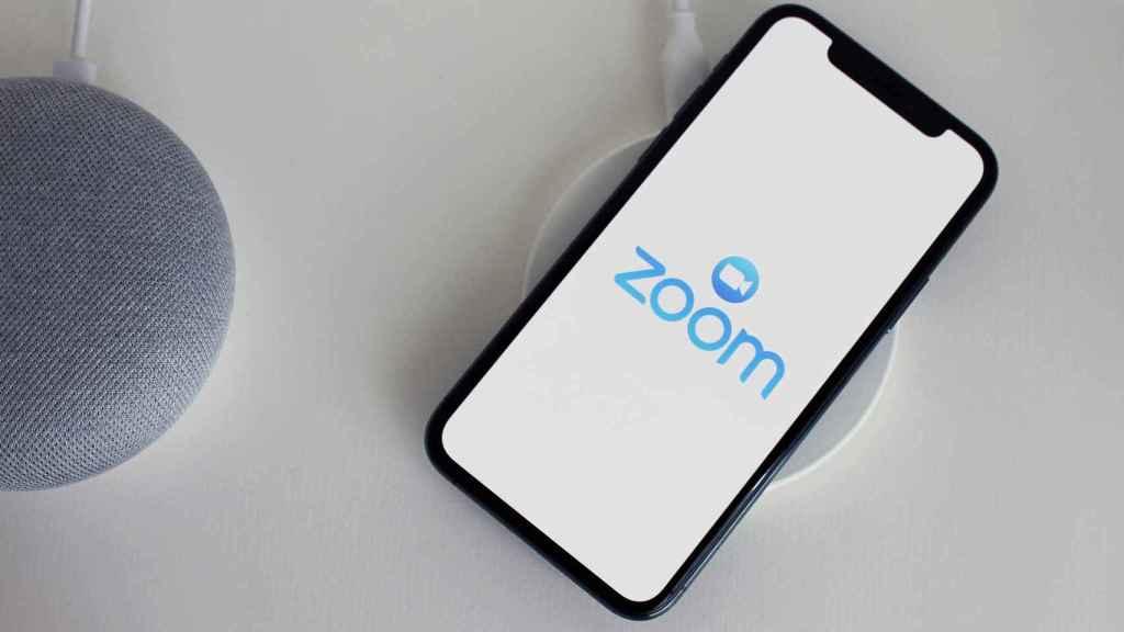 La app de Zoom para iPhone.