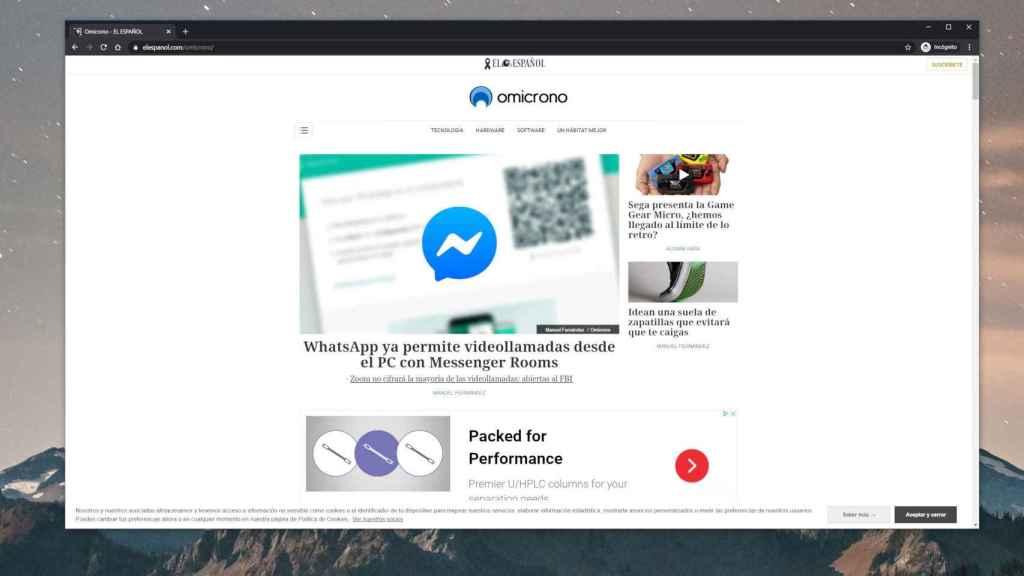 Chrome en modo incógnito