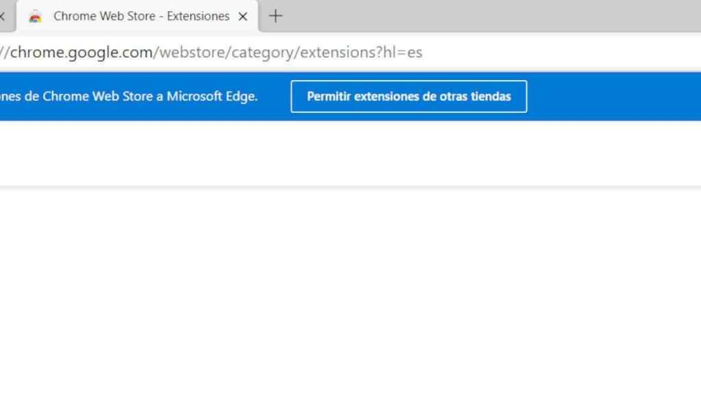 El nuevo Edge permite instalar extensiones de Chrome