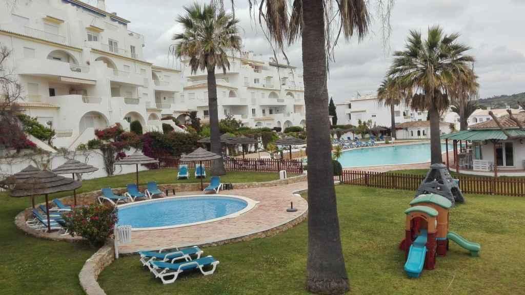 La piscina del complejo Ocean Club, donde estaban alojados los McCann en mayo de 2007.