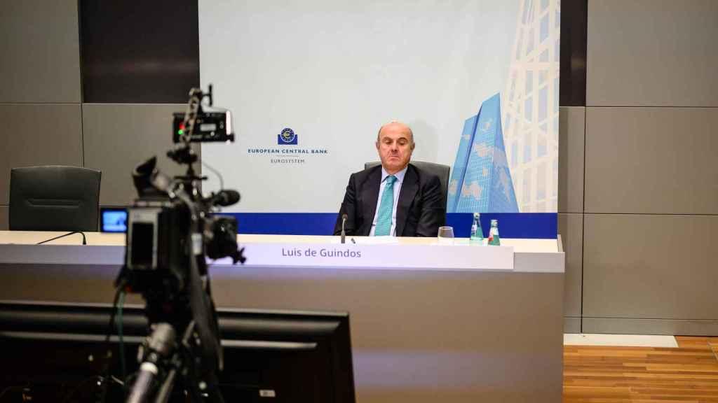 El vicepresidente del BCE y ex ministro de Economía, Luis de Guindos.