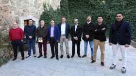 Pablo Burillo encabeza la candidatura continuista. Foto: Óscar Huertas