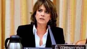 Dolores Delgado, en el Congreso./