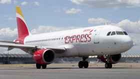 Un avión de Iberia Express.