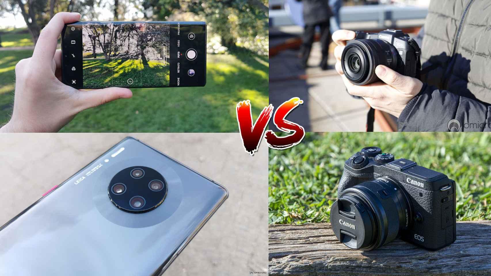 Cámaras de móviles vs cámaras tradicionales.