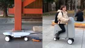 Mobio es una moto inflable desarrollada en Japón