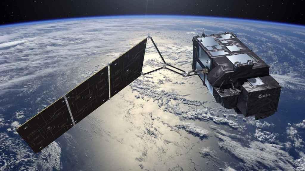 Satélite de la Agencia Espacial Erupea
