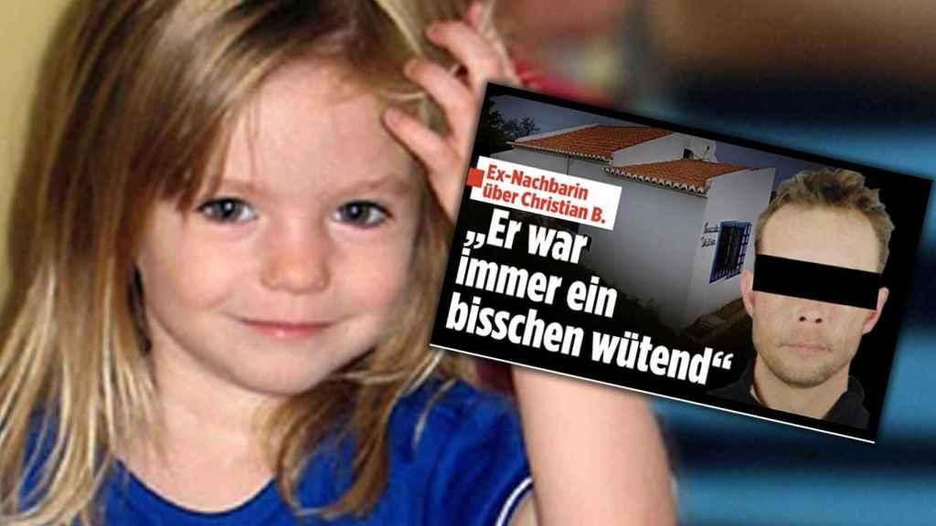 Una imagen de la niña desaparecida y del principal sospechoso del caso, Christian Brueckner.