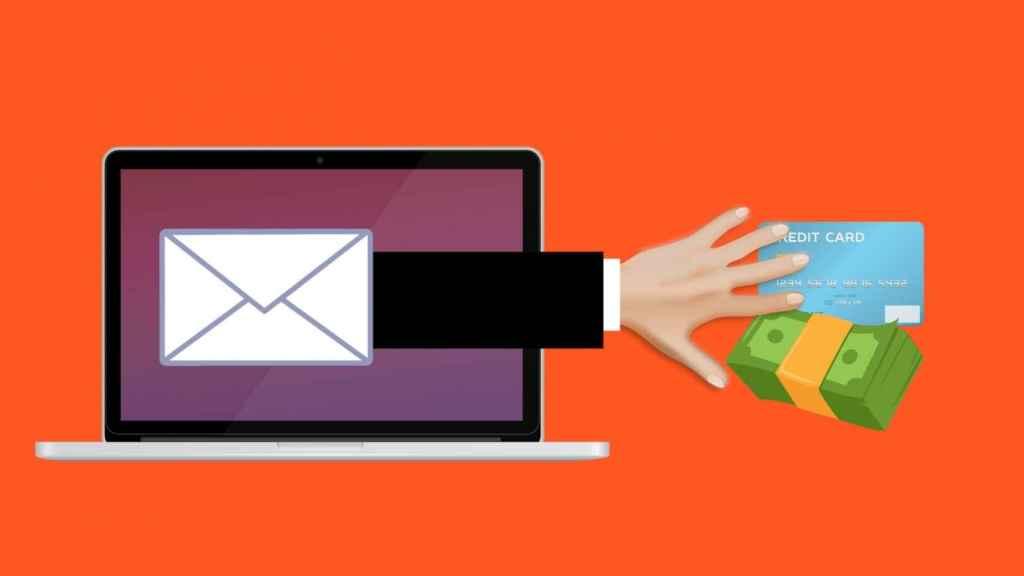 Ilustración del intento de 'phishing'.