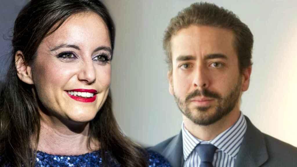 Andrea Levy y Pepe Ruiz-Gallardón, la flamante pareja, en montaje de JALEOS.