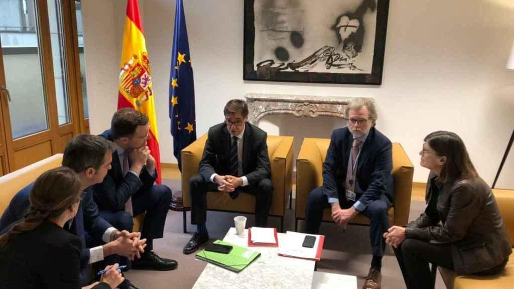 Reunión en Bruselas de los ministerios de Salud para tratar el coronavirus antes del cierre de fronteras.