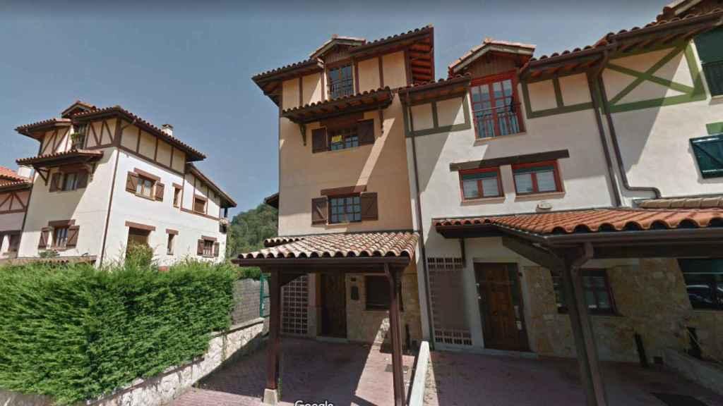 La vivienda en Murguía que era de Santiago Abascal hasta que el banco se la quitó.