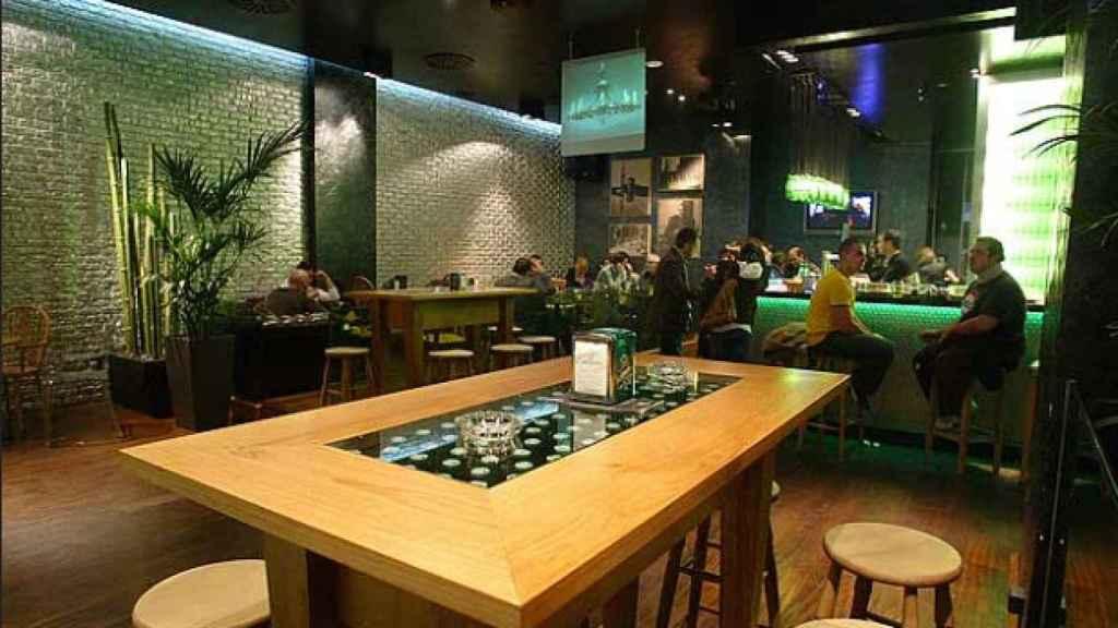 Interior del Urban Concept de Abascal, antes de cerrar el negocio.