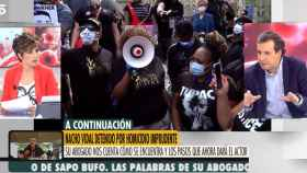 Sonsoles Ónega y Benjamín López en 'Ya es mediodía' (Antena 3)