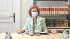 La reina Sofía reaparece tras tres meses confinada por el coronavirus
