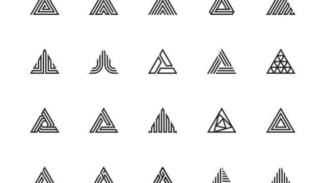 Tatuajes de triángulos: muchos significados en una forma