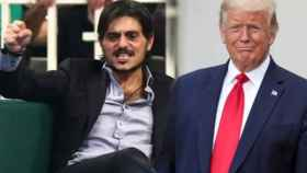 Dimitris Giannakopoulos y Donald Trump
