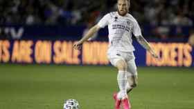 Aleksandar Katai, durante un partido con Los Ángeles Galaxy