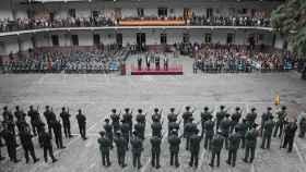La corrala del acuartelamiento de Batalla del Salado tiene fama de ser la más grande de la ciudad.