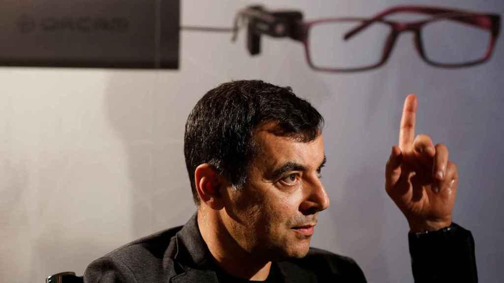 El profesor Amnon Shashua, uno de los creadores de OrCam.