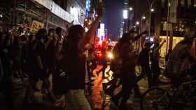 Protestas en Nueva York por la muerte de George Floyd.
